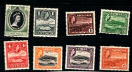 93749)  Antigua Lotto Di Francobolli -.mlh - 1858-1960 Colonia Britannica