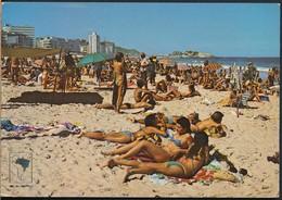 °°° 19989 - BRASIL - RIO DE JANEIRO - PRAIA DE IPANEMA - 1985 °°° - Rio De Janeiro