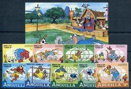 ANGUILLA   Mundial De Futbol  ESPAÑA 1982  - 322 - Disney