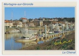 {58745} 17 Charente Maritime Mortagne Sur Gironde , Le Chenal Et Les Bateaux De Pêche à La Civelle ( Pibales ) - Other Municipalities