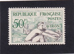 FRANCE 1953 - YT N°964 - 50 F. Emeraude Et Bistre - Aviron - Jeux Olympiques D'Helsinki - Neuf** - TTB Etat - Ungebraucht