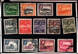 93750)  Antigua Lotto Francobolli 1954 Usato - 1858-1960 Colonia Britannica