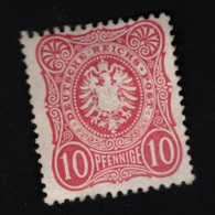 1875  Jan. Freimarke Mi DR 33 Sn DE 31 Yt DR 32 Sg DR 33 MH Teilweise Gum (x) - Deutschland