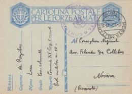 Italien Postkarte Feldpost Zensur 1940-45 - Used