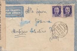 Italien Brief Feldpost Zensur 1940-45 PM - 1900-44 Victor Emmanuel III