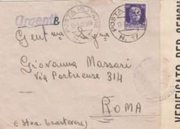 Italien Brief Feldpost Zensur 1940-45 - Used