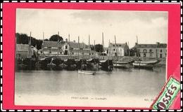 DEUX C.P.A - PORT LOUIS - Locmalo - Le Boulevard Et La Rue De La Pointe (rectos Versos) - Port Louis