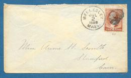 1885 WELLESLEY TO STAMFORD - 1847-99 Unionsausgaben