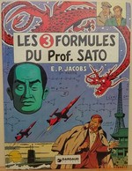 Blake Et Mortimer - Les 3 Formules Du Professeur Sato - Jacobs - Blake Et Mortimer