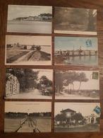 Lot De 19 Cartes Postales De RONCE LES BAINS - 16 CPA , 2 CPSM Et 1 CPM - Otros Municipios