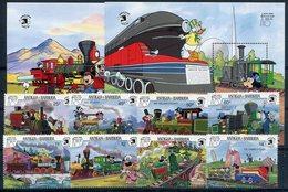 ANTIGUA  Expo 1989   ( Trenes )  - 334 - Disney