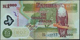 ZAMBIA - 1.000 Kwacha 2009 {Polymer} UNC P.44 G - Zambie