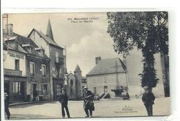 2020 - 03 - ALLIER - 03 - MARCILLAT - Place Du Marché Et Tambour De Ville - Andere Gemeenten