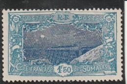 COTE FRANCAISE DES SOMALIS  Type De 1915-16  N° 135 * - Nuovi