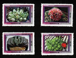 2017- Mexico Locals - Canatlán Municipality - Cactus/Succulents (Artistamp/Cinderella) - Vignetten (Erinnophilie)