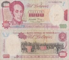 Venezuela / 1000 Bolivares / 1995 / P-76(b) / VF - Venezuela