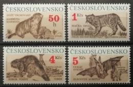 Tchécoslovaquie 1990 / Yvert N°2863-2866 / ** - Neufs