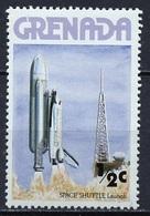 Espace 1978 Grenade - Grenada Y&T N°784 - Michel N°889 *** - 0,5c Décollage De La Navette - Südamerika