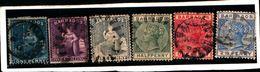 93756 ) BARBADOS LOTTO FRANCOBOLLI - USATO - Barbados (...-1966)