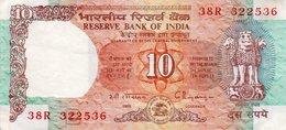 INDIA 10 RUPEES 1997 P-88 CIRC - India
