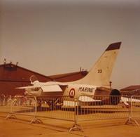 Snapshot Couleur Meeting BA128 Mai 1981 Metz Crusader ATT. Aéro. Nav. Aviation - Aviation