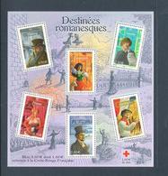 BLOC N° 60 - PERSONNAGES DE LA LITTÉRATURE FRANÇAISE  - 2003 - Blocchi & Foglietti