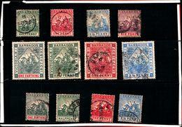 93760 ) BARBADOS LOTTO FRANCOBOLLI - USATO - Barbados (...-1966)