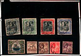 93761 ) BARBADOS LOTTO FRANCOBOLLI - USATO - Barbados (...-1966)