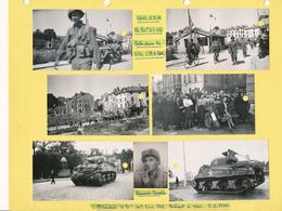 Lot 13 Photos Originales Libération Toul 5 09 1944 Division Blindées Guerre WW2 - Krieg, Militär