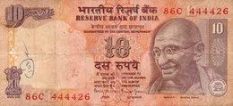 INDIA 10 RUPEES 1996 P-89  CIRC.   444426 - India
