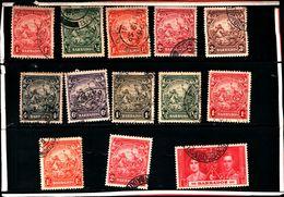 93764 ) BARBADOS LOTTO FRANCOBOLLI - USATO - Barbados (...-1966)