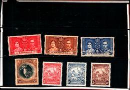 93765 ) BARBADOS LOTTO FRANCOBOLLI - MLH* - Barbados (...-1966)