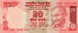 INDIA 20 RUPEES 2010 P-96  UNC - India