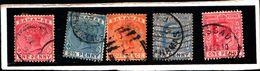 93771 ) BARBADOS LOTTO FRANCOBOLLI -USATO - Bahamas (...-1973)
