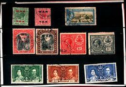 93773 ) BARBADOS LOTTO FRANCOBOLLI  - USATO - Bahamas (...-1973)
