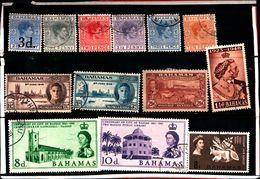 93774 ) BARBADOS LOTTO FRANCOBOLLI  - USATO - Bahamas (...-1973)