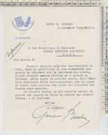 Borgo S. Lorenzo Ronta Mugello Firenze 1934 STEMMI COMUNE FASCI - Historical Documents