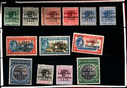 93775 ) BARBADOS LOTTO FRANCOBOLLI  - MLH* - Bahamas (...-1973)
