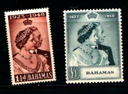 93777 ) BARBADOS 1946 NOZZE D'ARGENTO DEI SOVRANI INGLESI - MNH** - Bahamas (...-1973)
