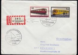 Friedrichshafen 1971 Interboot SST + Sonder R-Zettel   (23129 - Briefmarken