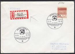 München 1970 CONTAINERIZATION SST + Sonder R-Zettel   (23131 - Francobolli