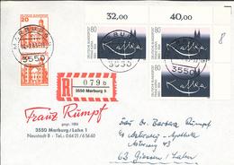 Franz Kafka War Ein Deutschsprachiger Schriftsteller. Sein Hauptwerk Bilden Drei Romanfragmente - Marburg R-Brief - Schriftsteller