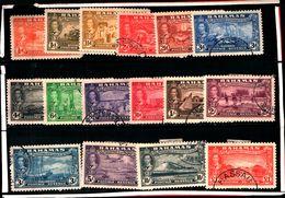93779 ) BARBADOS 1948 300° ANN. DELLA COLONIA II SERIE USATA - Bahamas (...-1973)