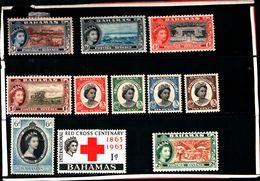 93780 ) BARBADOS LOTTO FRANCOBOLLI - MLH* - Bahamas (...-1973)