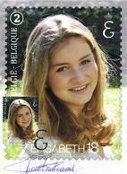 Belgium 2019 MC CM Maximum Card Signed By The Designer, Belgian Royal Family, Princess Elisabeth 18 Years Old - Maximum Cards