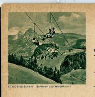 Carte Illustrée Neuve N° 193 - 0109  ( STOOS Ob Schwyz  Sommer Und Winterkurort  (télésiège) - Entiers Postaux