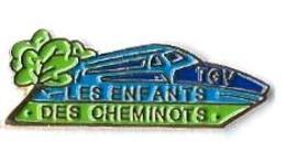 TGV ATLANTIQUE - A18 - LES ENFANTS DES CHEMINOTS - Verso : PLG PARIS 1992 - TGV