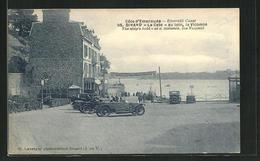 CPA Dinard / Cote D`Emeraude, La Cale, Au Loin La Vicomte - Dinard