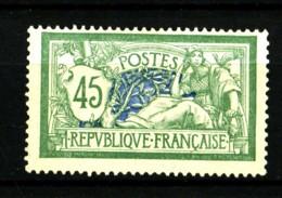 143 - 45c Vert Merson - Neuf Sans Gomme - Très Beau - 1900-27 Merson