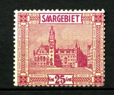 SARRE - 90 - 25c Rouge Et Jaune - Neuf N* - Très Beau - Neufs